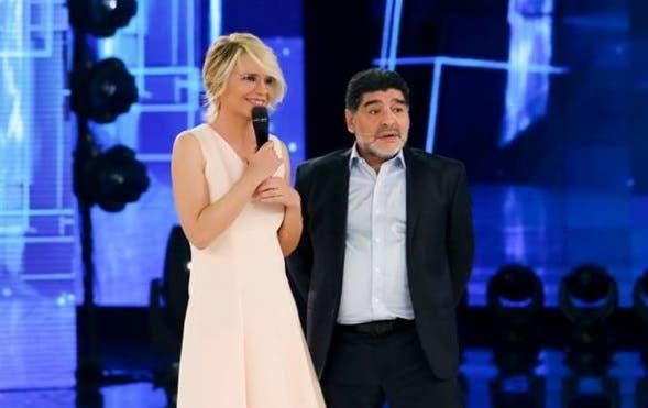 Maria De Filippi e Maradona