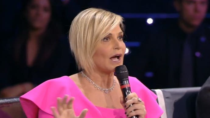 Simona Ventura - Amici 2018