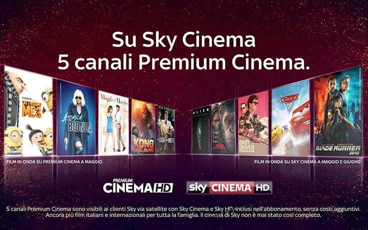 premium cinema sky