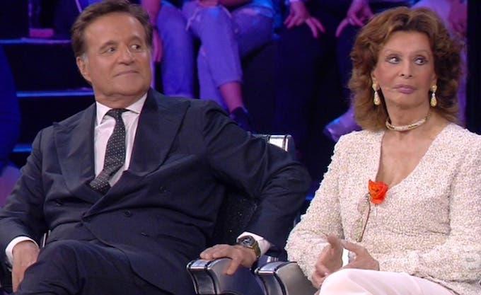 Christian De Sica e Sophia Loren Amici