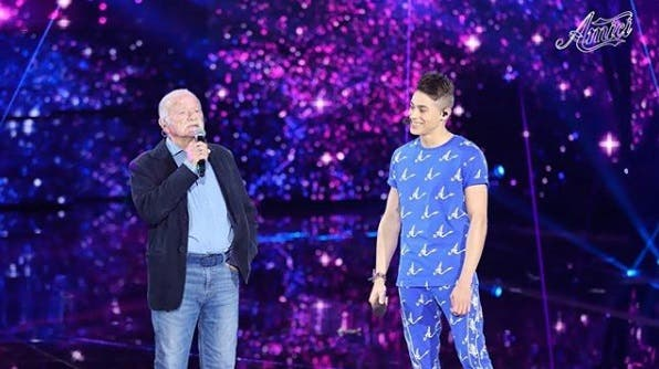 Einar con Gino Paoli - Amici 2018