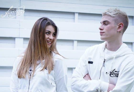 Emma e Biondo - Amici 2018