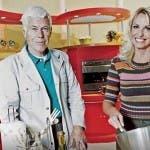 Beppe Bigazzi e Antonella Clerici