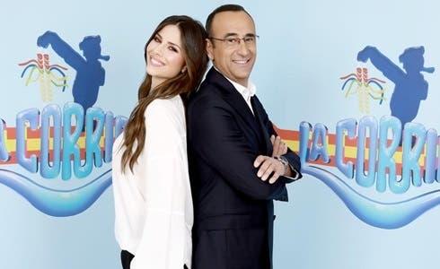 Ludovica Caramis e Carlo Conti