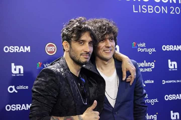 Fabrizio Moro e Ermal Meta - ESC 2018