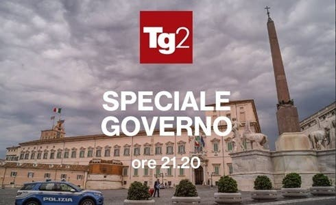 Tg2 - Speciale Governo
