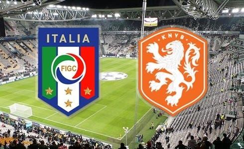 Amichevole Italia vs Olanda