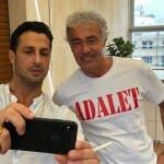 Fabrizio Corona e Massimo Giletti
