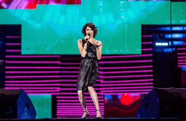 Giorgia ai Wind Music Awards 2018