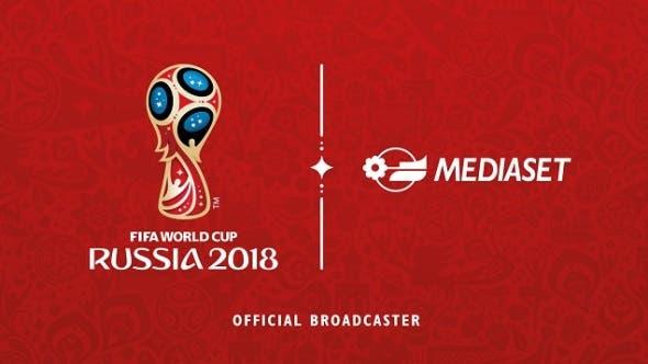 Mondiali 2018 su Mediaset