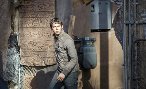 Dylan O'Brien in Maze Runner - La Fuga