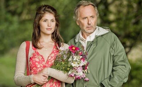 Gemma Arterton e Fabrice Luchini in Gemma Bovary