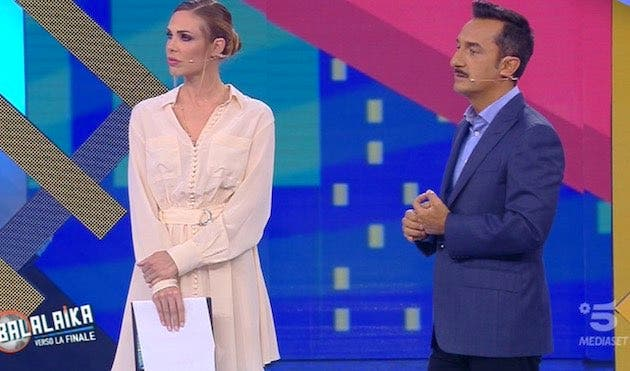 Ilary Blasi e Nicola Savino