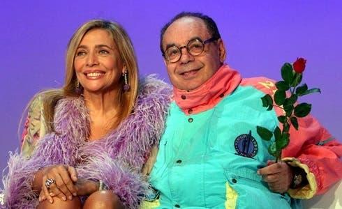 Mara Venier e Gianni Boncompagni in Domenica In...Maramao (2005)