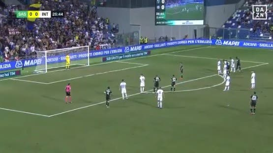 Sassuolo-Inter su DAZN