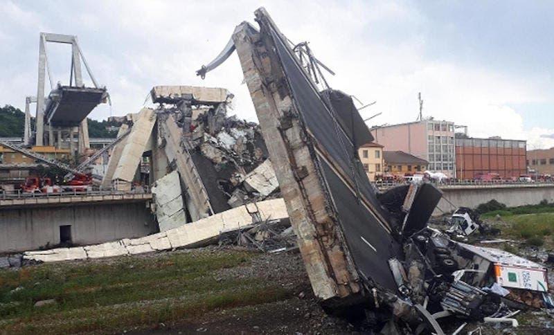 Crollo del ponte a Genova: la Rai senza pubblicità per un gi