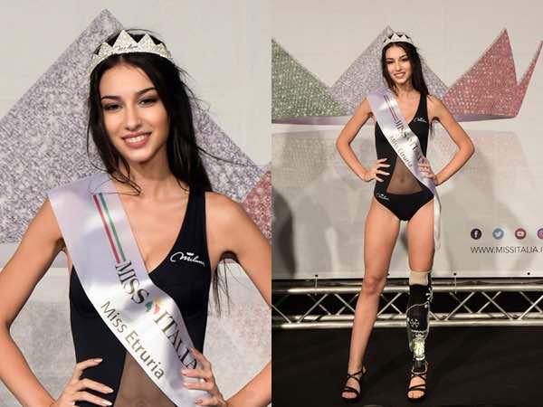 Chiara Bordi - Miss con protesi