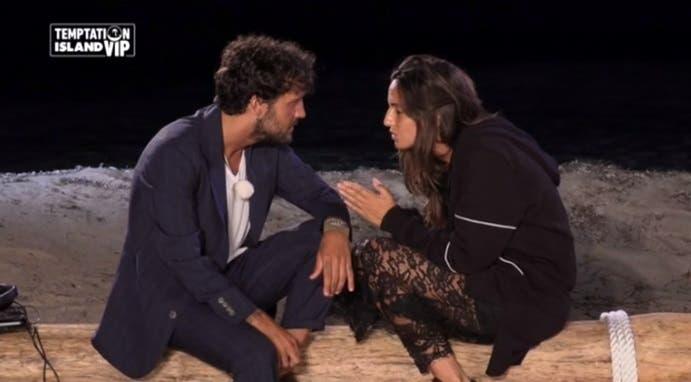 Temptation Island Vip: Fabio e Marcella escono (insieme ma delusi) dopo tre giorni – Video