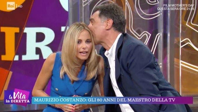 Francesca Fialdini e Tiberio Timperi