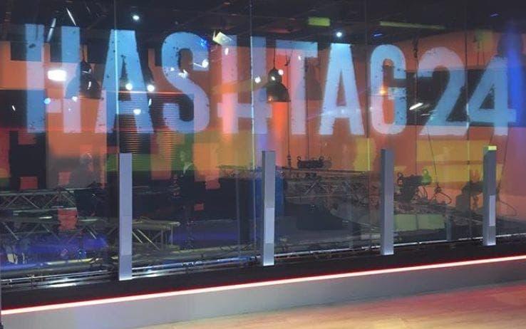 Hashtag24 – l'attualità condivisa: il talk social di Sky TG2