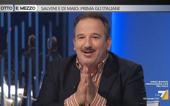 La7, Luca Telese punzecchia ancora «gli amici di Rete4». Ma