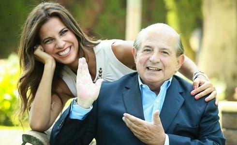 Roberta Morise e Giancarlo Magalli