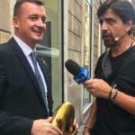Tapiro d'oro a Rocco Casalino