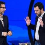 Fabio Fazio, Matteo Salvini