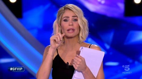 Ilary Blasi - Quinta puntata GF Vip 2018