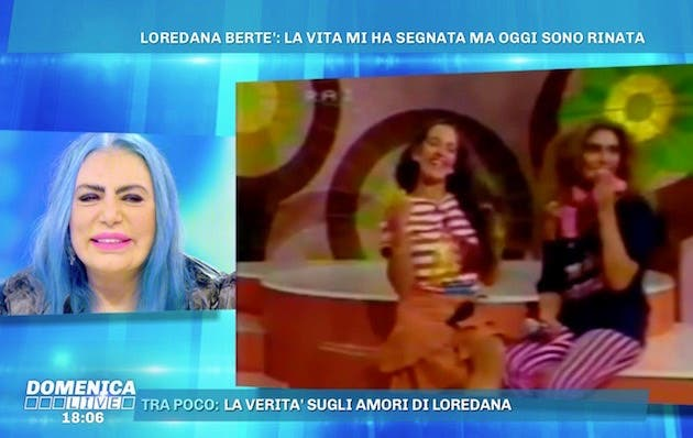 Domenica Live, Loredana Bertè: «Marco Mengoni mi ha copiato»