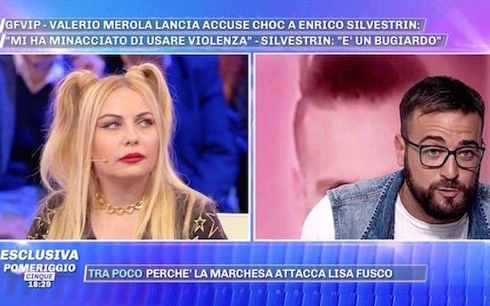 Pomeriggio Cinque, Lisa Fusco, Danilo Aquino