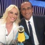 Tale e Quale Show 2018 - Antonella Clerici ospite di Carlo Conti (da Twitter)