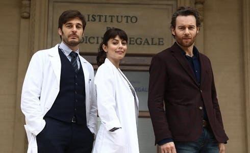 Lino Guanciale, Alessandra Mastronardi e Giorgio Marchesi