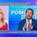 Matteo Salvini, Pomeriggio Cinque