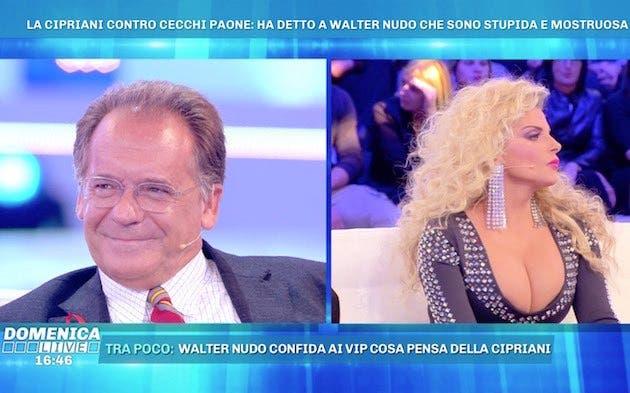 Francesca Cipriani manda un vocale a Domenica Live: «Cecchi