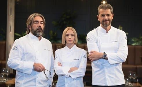Philippe Léveillé, Isabella Potì e Andrea Berton - Il Ristorante degli Chef