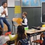 Salvini alla lavagna
