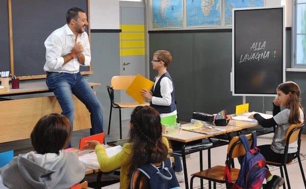 Alla Lavagna: bambini 'adultizzati' non spiazzano Salvini