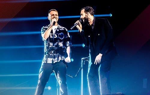 Anastasio e Marco Mengoni - Finale X Factor 2018