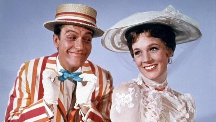 Mary Poppins - Dick van Dyke e Julie Andrews