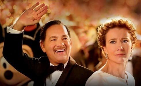 Tom Hanks ed Emma Thompson in Saving Mr. Banks