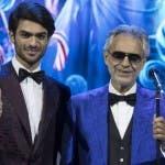 Andrea Bocelli e il figlio Matteo