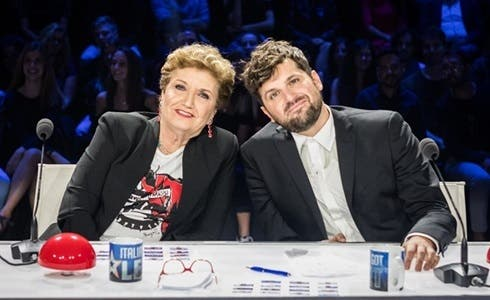 Mara Maionchi e Frank Matano a Italia's Got Talent