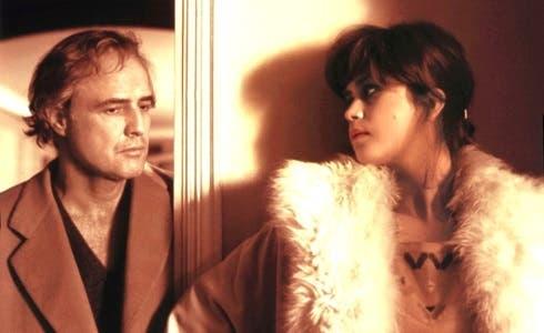 Marlon Brando e Maria Schneider in Ultimo tango a Parigi