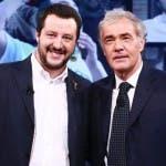 Massimo Giletti, Matteo Salvini