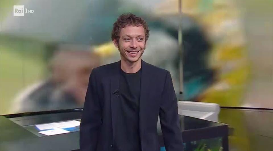 Valentino Rossi a Che Tempo che Fa