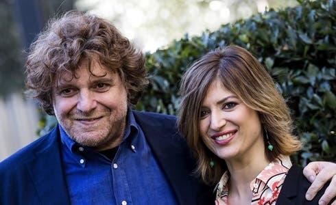 Alessandro Sortino e Eva Giovannini. Alessandro Sortino e Eva Giovannini.  Rai1 822d81d48cf