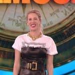 Alessia Marcuzzi - Quarta puntata Isola dei Famosi 2019