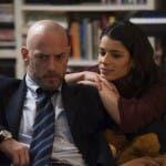Amedeo Cinaglia (Filippo Nigro) e la moglie Alice (Rosa Diletta Rossi) - Suburra