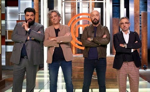 Antonino Cannavacciuolo, Giorgio Locatelli, Joe Bastianich, Bruno Barbieri